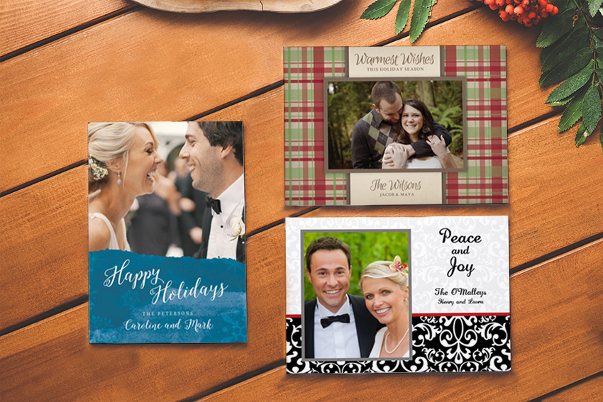 Printed Christmas Photo Cards from Studio Style