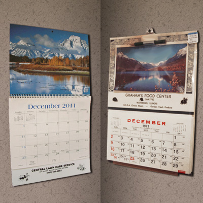 Advertising Wall Calendars Archives  The Event  Party Idea Blog