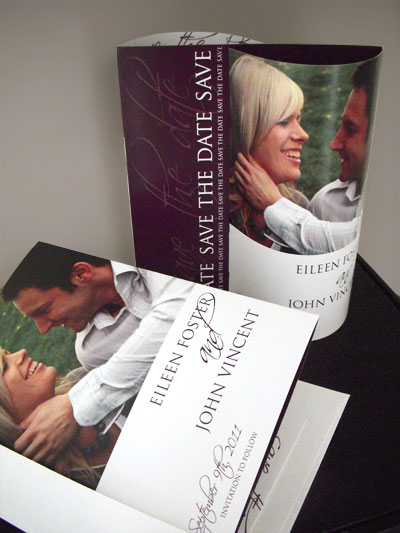 Wedding Save The Date Wave Cards