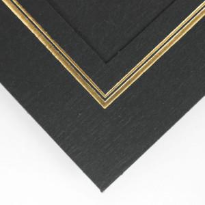 linen weave paper black