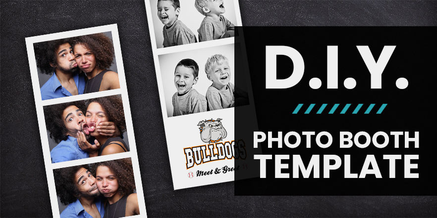 diy free photo booth strip template download personalize