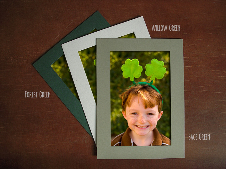 green_photo_insert_cards