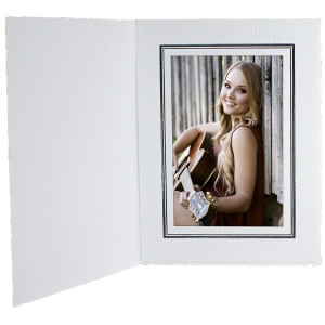 White Portrait Folder
