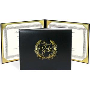 Golf Award Folder