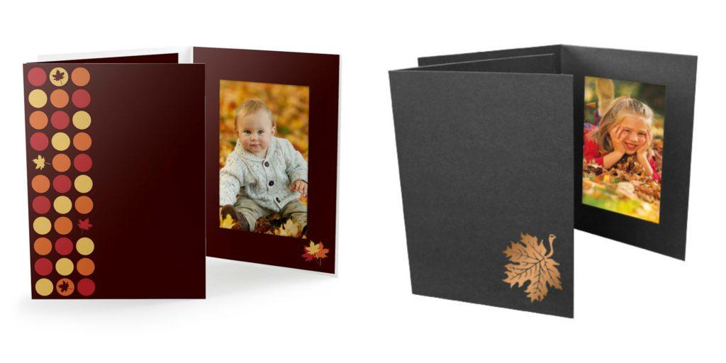 Fall Photo Folders