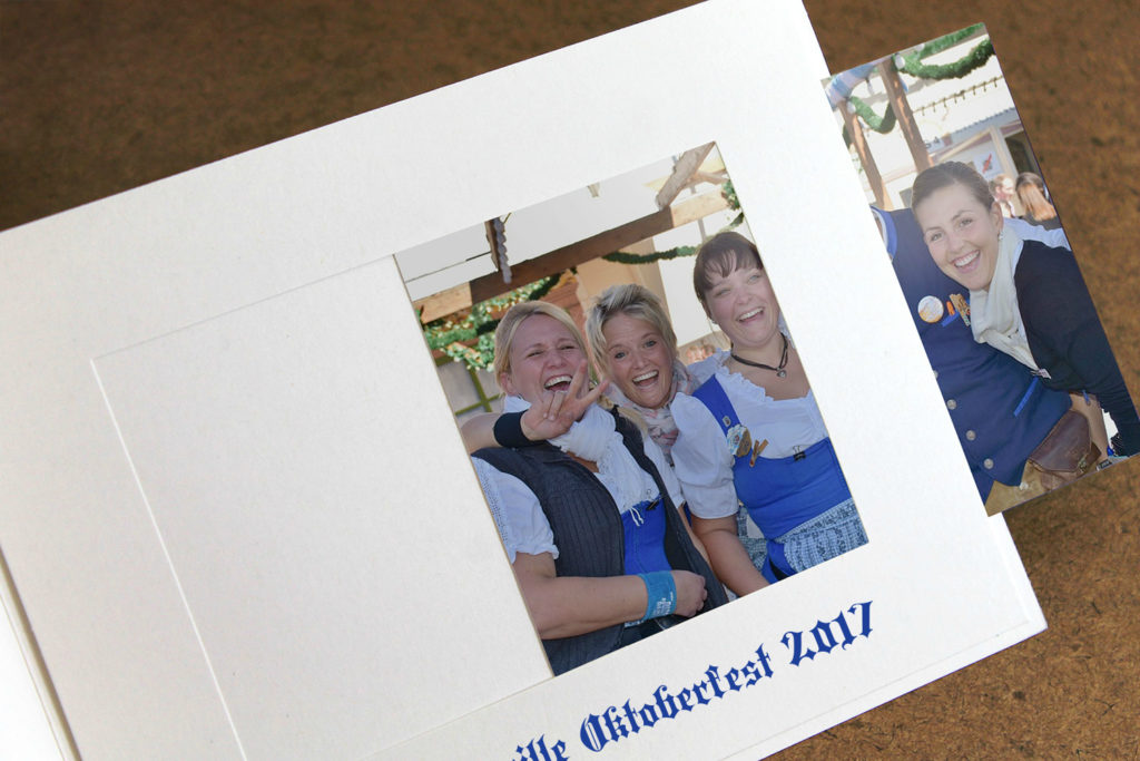 oktoberfest photo folder