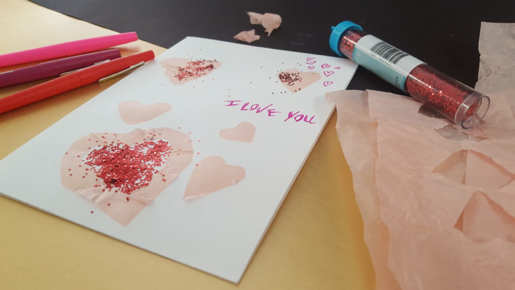 Kids DIY Valentines Card