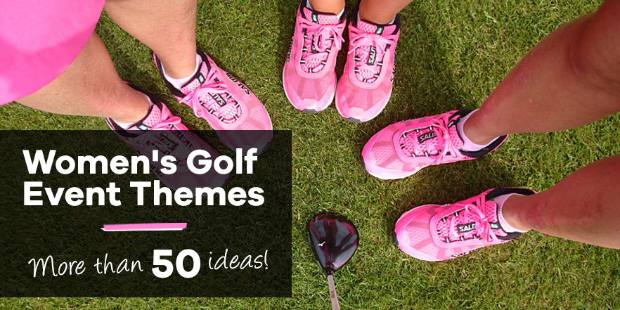 Women S Golf Tournament Theme Ideas The Studio Style Blog
